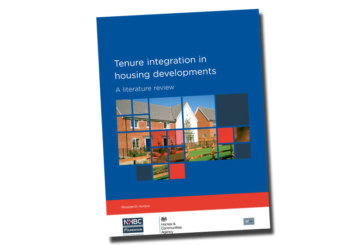 Property prices are not reduced by integrated social housing