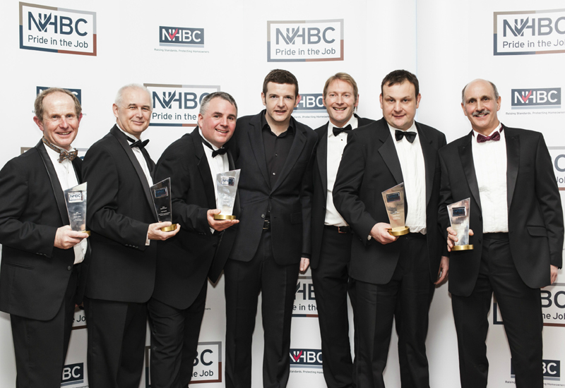 Site Managers honoured at NHBC awards
