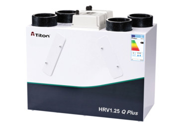 Titon units meet ventilation regulation