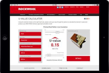 New Rockwool U-Value calculator