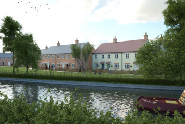 Over 140 new homes planned for £29m canal-side development