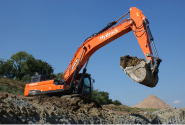 New Doosan excavator at Hydrock