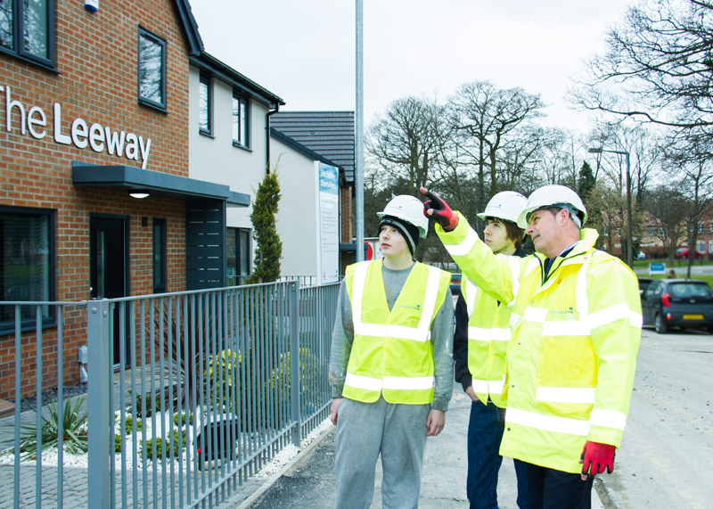 Hull Training and Adult Education students learn on site