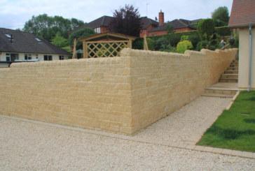 Forticrete walling stone