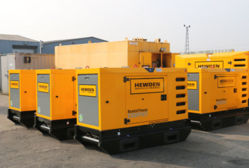 Hewden adds £2m of generators in new investment