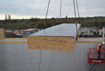 IKO Polymeric – pre-fab Armourdek roof panel