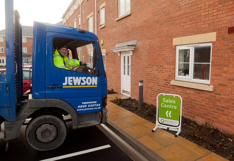Jewson named Barratt Developments' supplier of the year