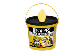 Big Wipes launches a 300-wipe Multi-Purpose Bucket