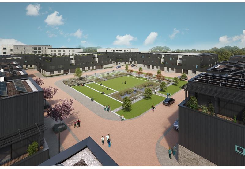 Hill eco-friendly development