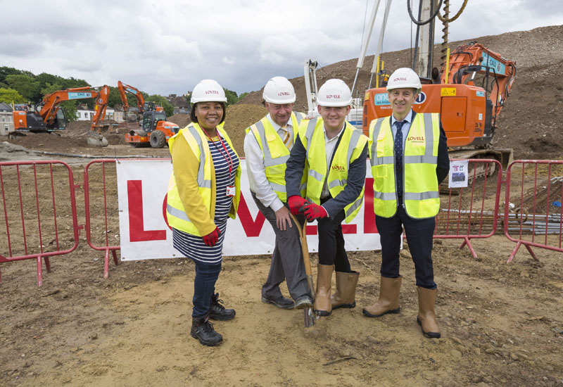 Lovell begins work on 1,500 new homes for Woolwich