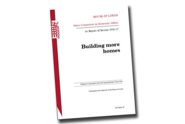 House of Lords publish report into Housing Crisis