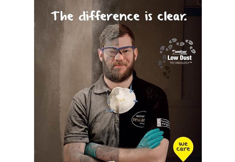 Weber's low dust technology