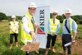 Work gets underway at Potton development