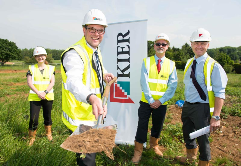 Work gets underway at Potton development