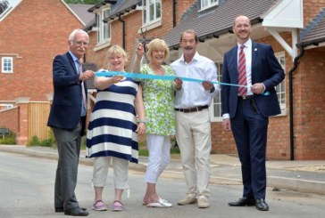 New affordable homes open in Shottery