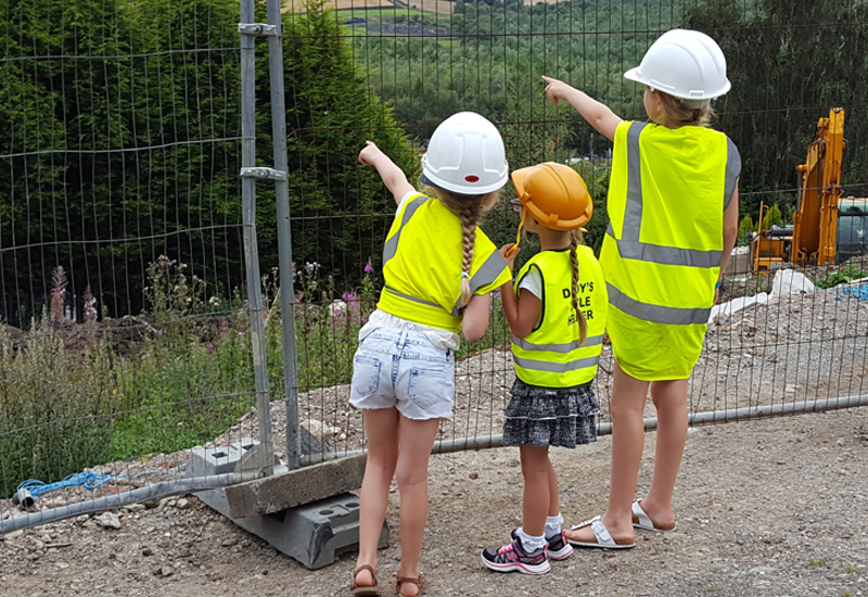Children invited to design and build their own dream home