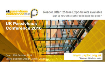 Free tickets to the UK Passivhaus Conference
