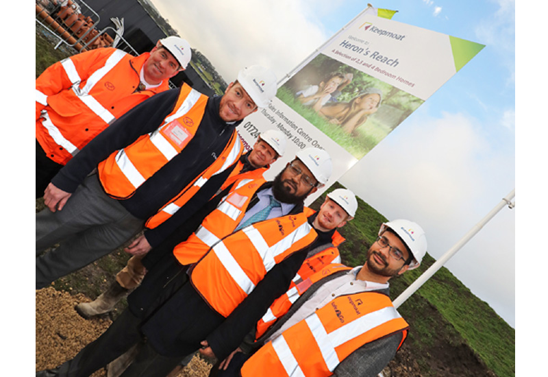 Keepmoat breaks ground at £43m development in Bradford