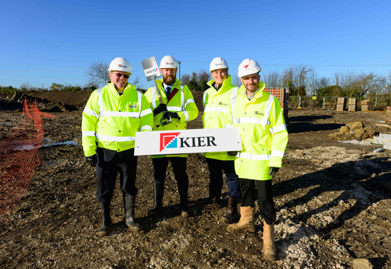 Kier begins work on new homes in Buckinghamshire