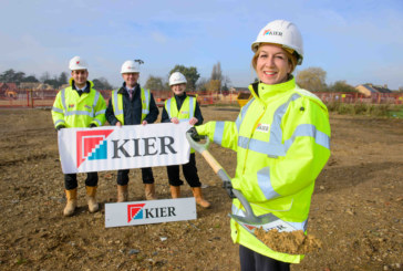 Kier begins work on 43 new homes in Peterborough