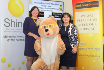 Larkfleet Homes helps to raise over £140,000 for charity