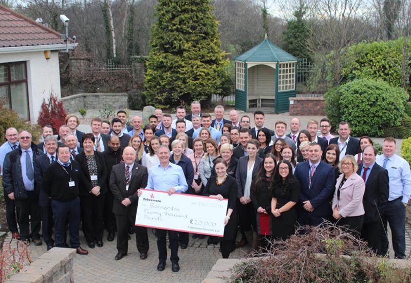 Tobermore Donate £20,000 to Barnardo's
