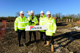 Kier begins work at Farrendon Court