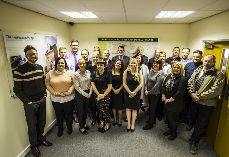 Persimmon launches Nottingham business