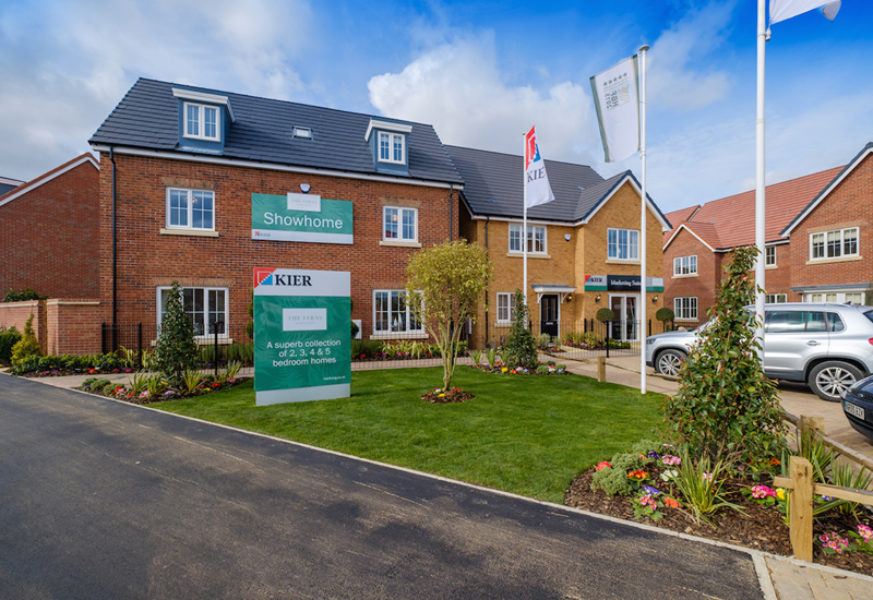 Kier Eastern Living opens show homes at two developments
