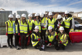 Lovell shows Enfield students that construction offers jobs for all