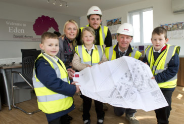 Peveril Homes invite school children onsite to learn about safety