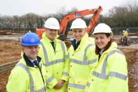 Construction begins on 30 affordable homes in Deddington