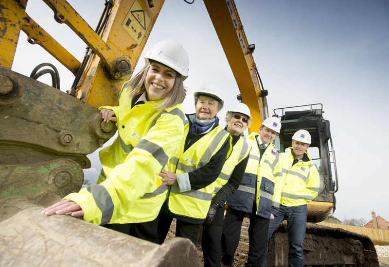 Construction starts on 25 new affordable homes in North Mundham