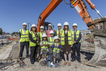 Deputy Mayor breaks ground in Hounslow