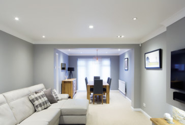 LED lighting for new homes