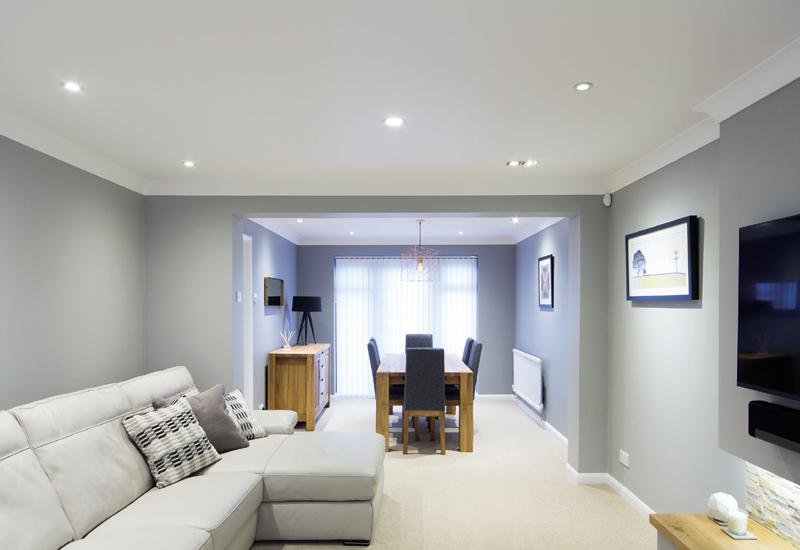 LED lighting for new homes