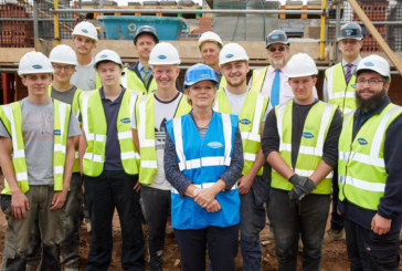 MP learns of Apprenticeships initiative during visit to Fairgrove Homes