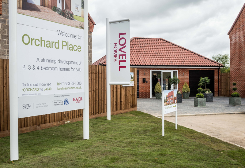 Lovell's new King's Lynn development releases first homes