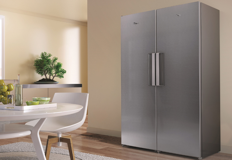 Whirlpool introduces freestanding Grand Side by Side fridge freezer