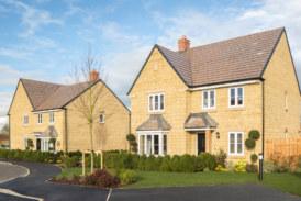 Sales success at David Wilson Homes' Orchard Gate development in Abingdon