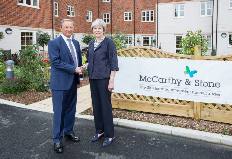 Prime Minister Visits Mccarthy Amp Stone Development In