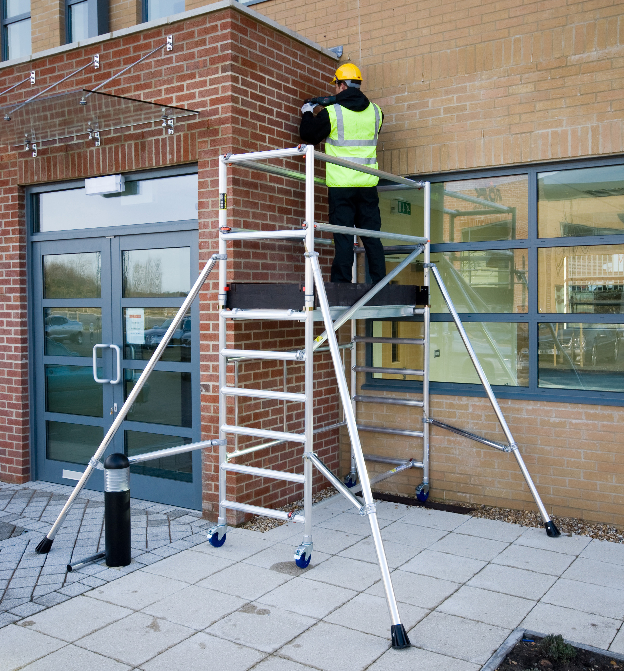 Reducing the dangers of working at height
