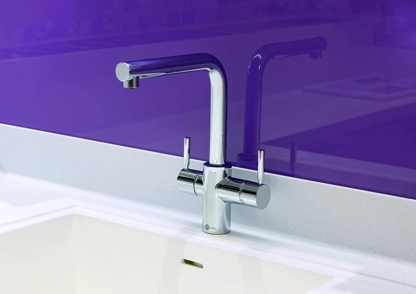 Steaming hot water taps from InSinkErator