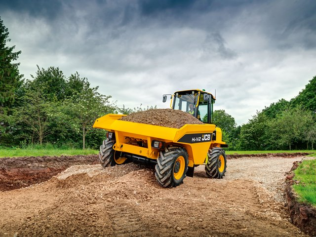 JCB begins production of Site Dumpers