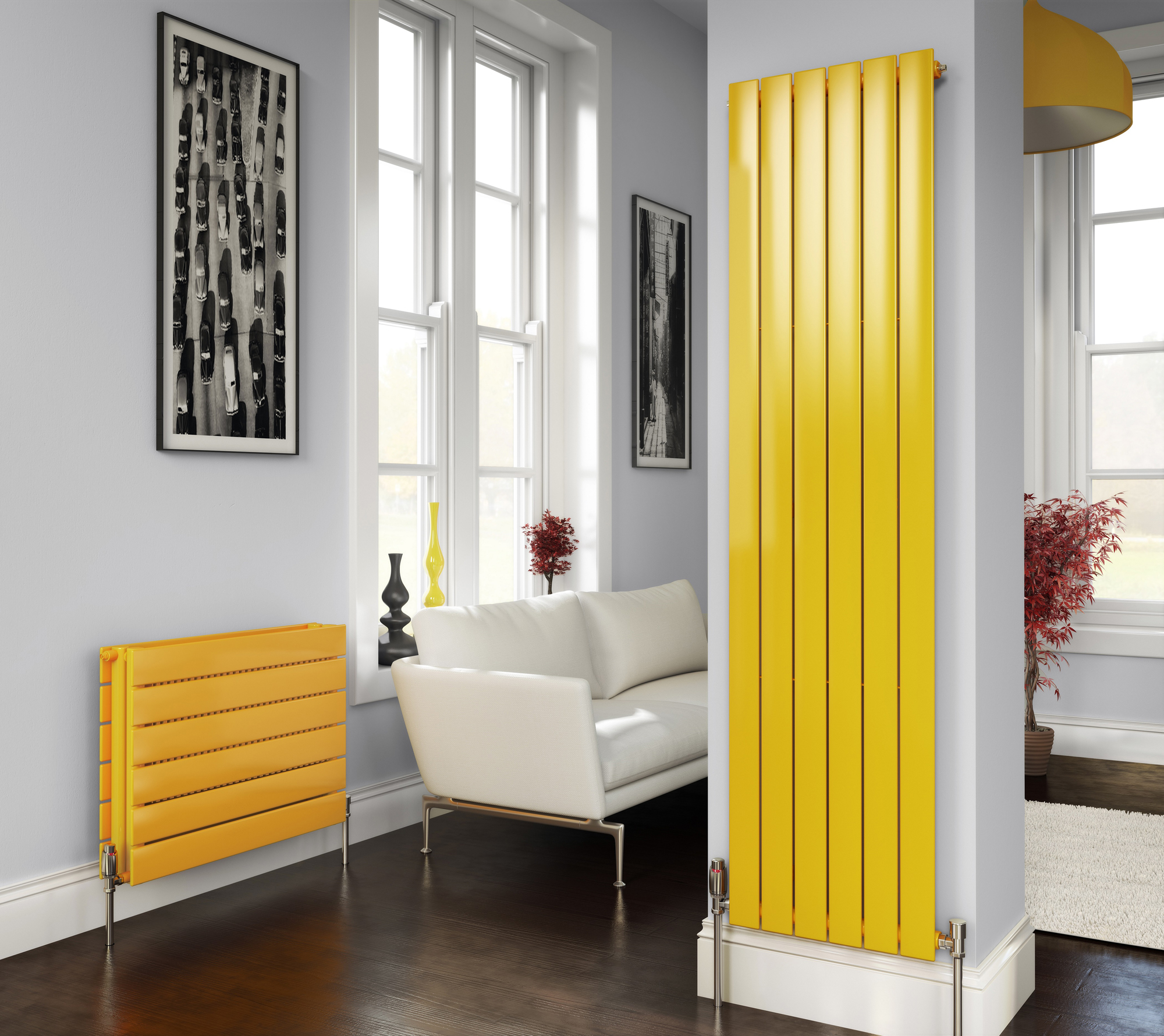 Widening options for radiator design