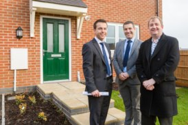 Local MP visits Peveril Homes' Smalley Manor development