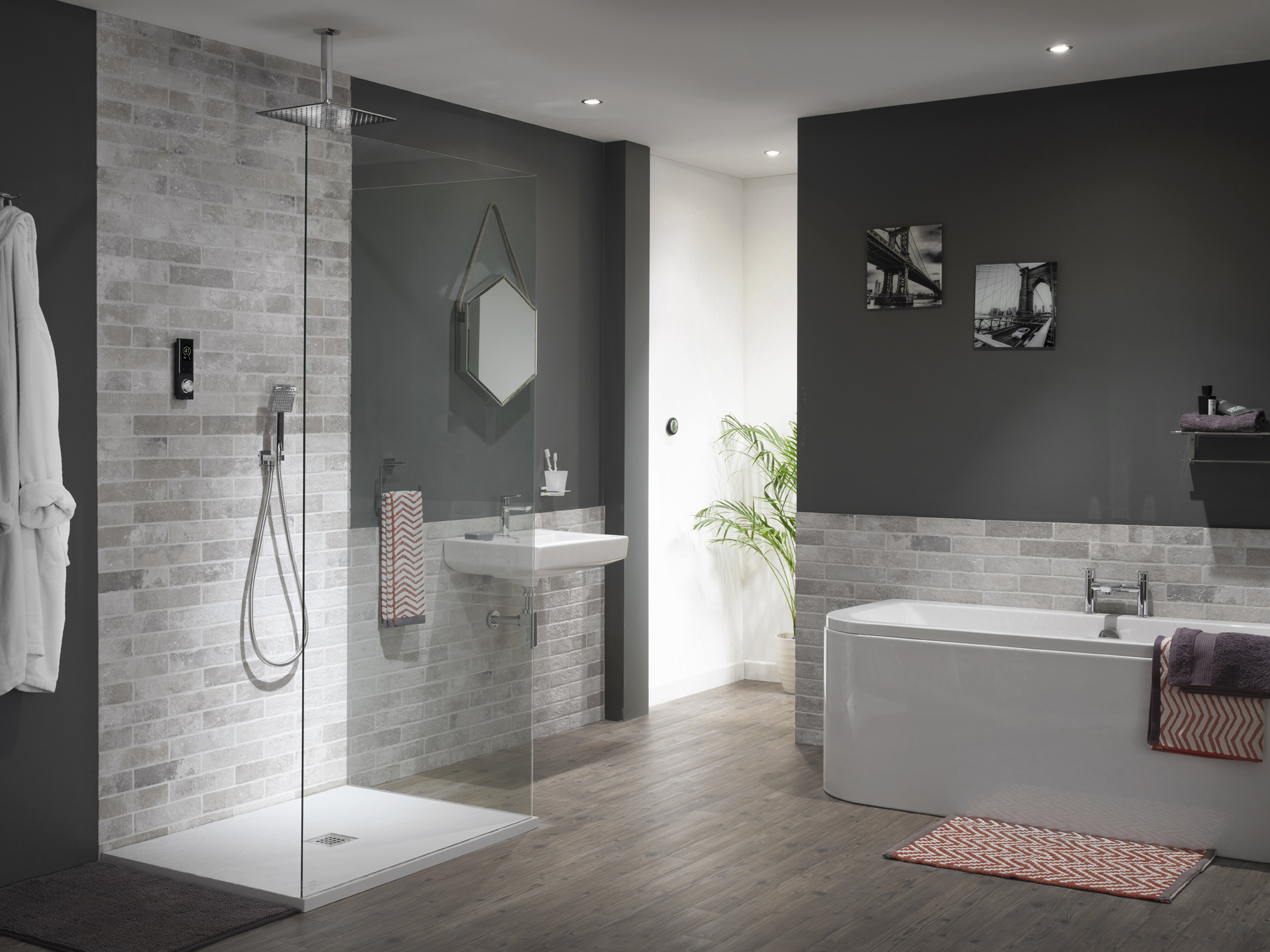 latest bathroom tile trends using the shower trends to create stand out bathrooms 19124