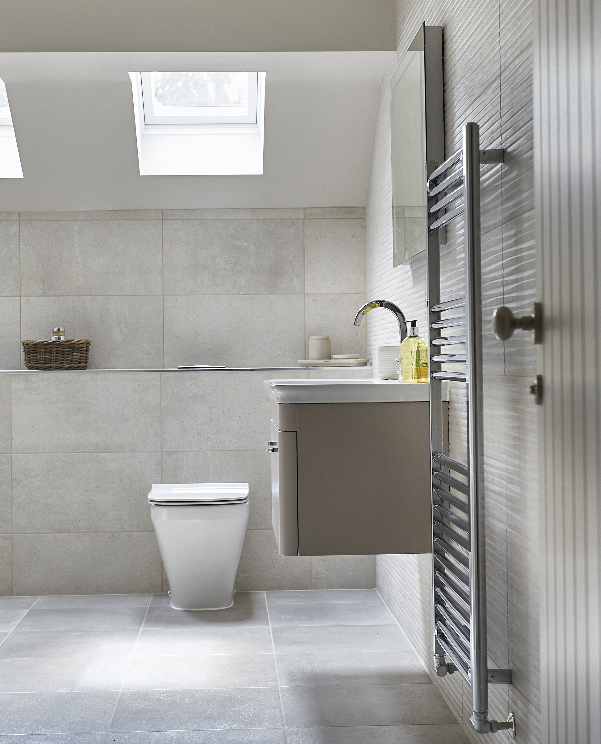 Digital showers for a 24-home development