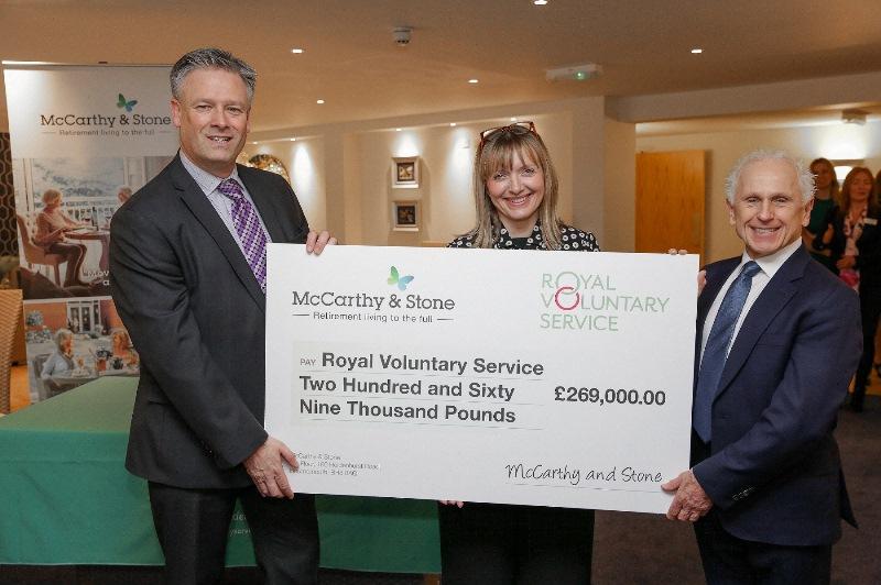 McCarthy & Stone raises more than £250,000 for RVS