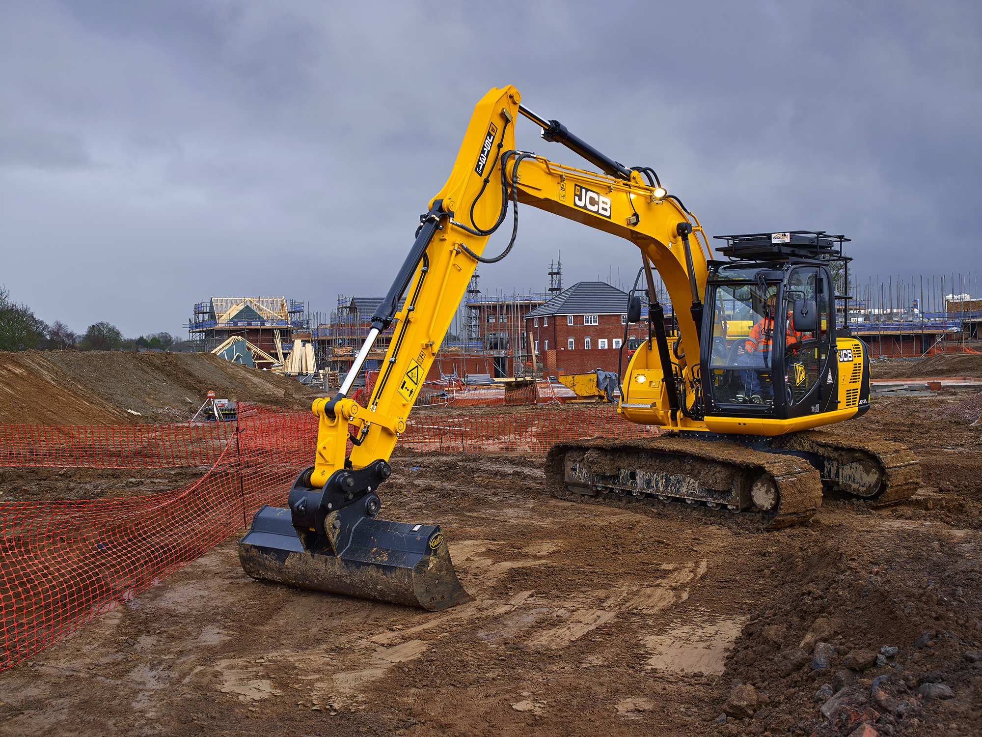 Selecting the latest plant and equipment for housebuilding